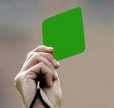 cartellino verde